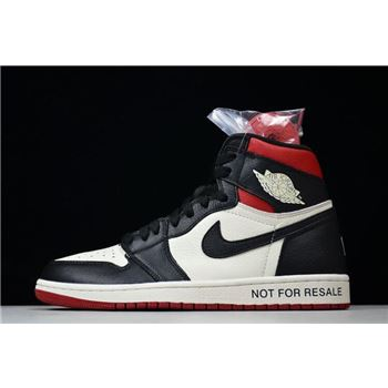 2018 Air Jordan 1 Retro High OG NRG No L's Sail/Black-Varsity Red 861428-106