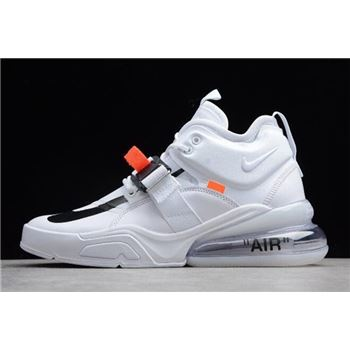 Off-White x Nike Air Force 270 White/Black Shoes Free Shipping