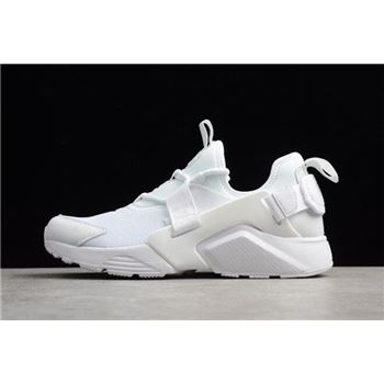 Men's and Women's Nike Air Huarache City Low White AH6804-100