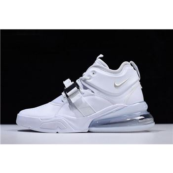 Nike Air Force 270 White/Pure Platinum Men's Size AH6772-010