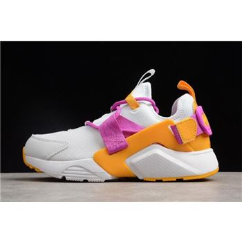 Women's Nike Air Huarache City Low Fuschia/White AH6804-102