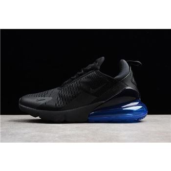 Men's and Women's Nike Air Max 270 Photo Blue Black/Photo Blue AH8050-009