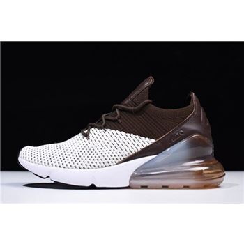 Nike Air Max 270 Flyknit Dark Hazel Light Bone/White-Dark Hazel AO1023-002
