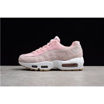 Women's Nike Air Max 95 SD Prism Pink/White-Sheen-Black 919924-600 Running Shoes