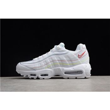 WMNS Nike Air Max 95 SE Triple White AQ4138-100