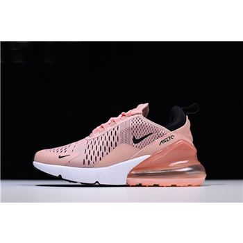 Women's Nike Air Max 270 Coral Stardust/Black-Summit White AH6789-600
