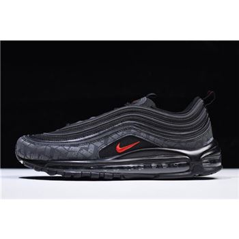 Nike Air Max 97 Reflective Logo Black/University Red AR4259-001