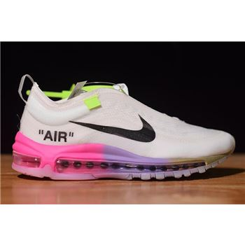 Off-White x Nike Air Max 97 Queen Elemental Rose/Barely Rose-White-Black AJ4585-600