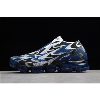 Acronym x Nike Air Vapormax FK Moc 2 Light Ashes/Navy Blue-White-Black AQ0996-400