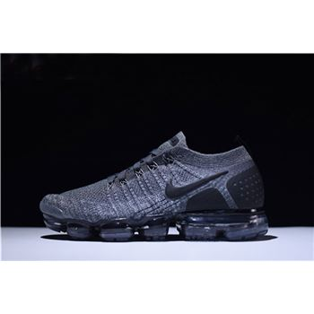Nike Air VaporMax Flyknit 2.0 Dark Grey Men's and Women's Running Shoe 942842-002