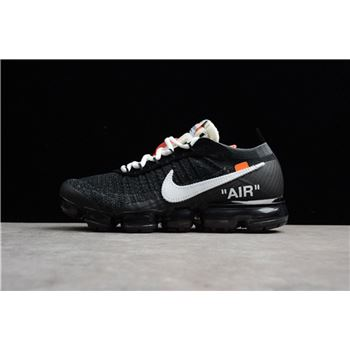 2018 Virgil Abloh's Nike Air Vapormax FK OFF-WHITE Black/White-Clear AA3831-001