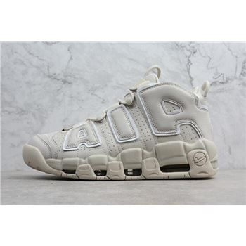 Nike Air More Uptempo Light Bone Men's Size Shoes 921948-001