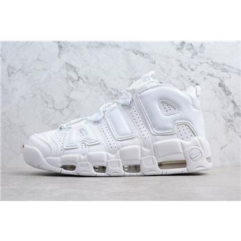 Nike Air More Uptempo Triple White Men's and Women's Size 921948-100
