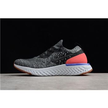 Nike Epic React Flyknit Hyper Crimson Black/White/Hyper Crimson Men's Running Shoe AQ0067-006