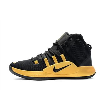 New Nike Hyperdunk X Black Gold Men's Basketball Shoes