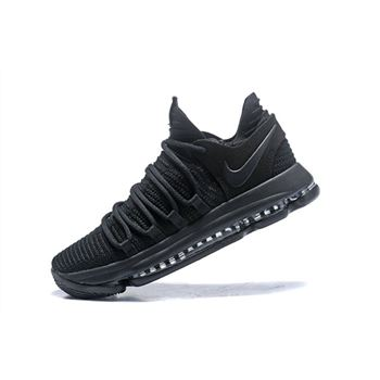 Nike KD 10 Triple Black Men's Basketball Shoes 897816-004