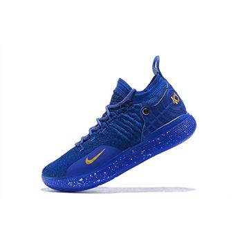 Cheap Nike KD 11 Agimat Philippines Dark Blue/Gold For Sale