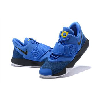 Nike KD Trey 5 VI Royal Blue/Black/Metallic Gold/White AA7067-401