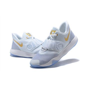 Nike KD Trey 5 VI White/Metallic Gold-Grey For Sale