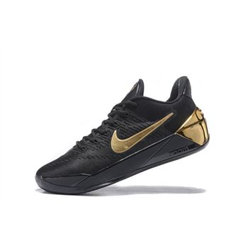 Nike Kobe A.D. Black/Metallic Gold Men's Basketball Shoes For Sale