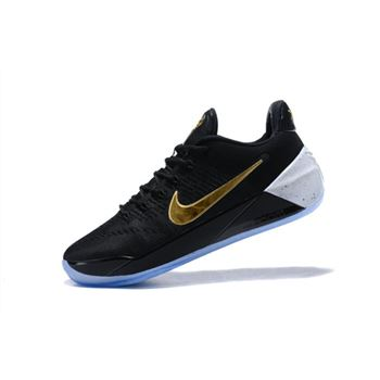 Nike Kobe A.D. Black/Metallic Gold-White For Sale