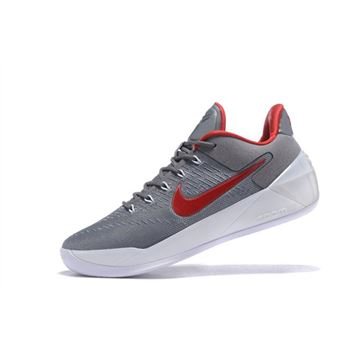 Nike Kobe A.D. Cool Grey/Red-White Men's Size Cheap Sale