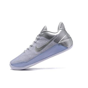 Nike Kobe A.D. Metallic Silver/White Men's Basketball Shoes