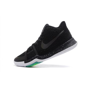 Nike Kyrie 3 Black/Total Crimson-Dark Grey-White Men's Basketball Shoes