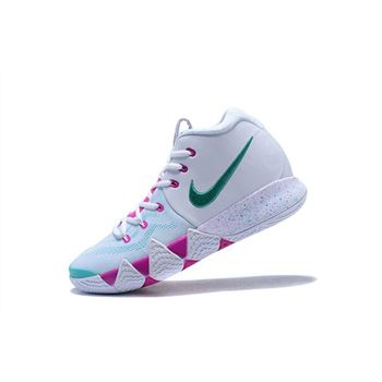 Nike Kyrie 4 White/Pink-Mint Green Men's Size Free Shipping