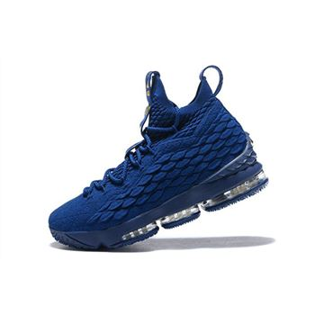 Nike LeBron 15 Agimat Philippines Coastal Blue/Metallic Gold Men's Basketball Shoes