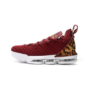 Nike LeBron 16 King Team Red/Metallic Gold-Multi Color AO2588-601