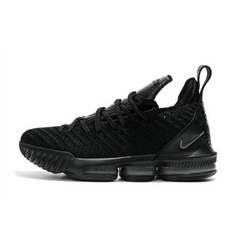Nike LeBron 16 Triple Black Men's Basketball Shoes For Sale