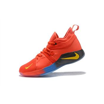 Paul George Nike PG 2 Orange Men's Basketball Shoes