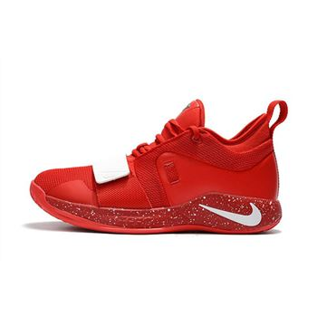 Paul George's Nike PG 2.5 University Red/White Basketball Shoes