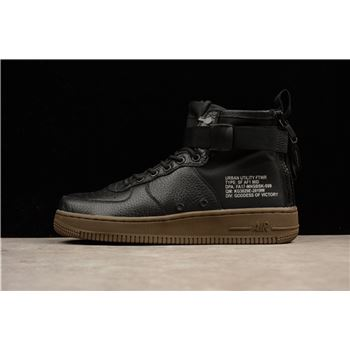 Latest Nike SF-AF1 Mid Hazel Black/Black-Hazel 917753-002 Men's Shoe