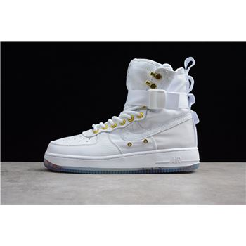 Nike SF-AF1 Mid CNY White/Habanero Red AO9385-100 Men's and Women's Size
