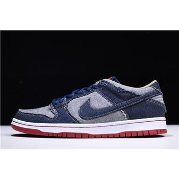 Reese Forbes x Dunk Low Pro SB Denim Men's Size 304292-441