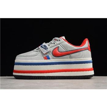 Women's Nike Vandal 2K Metallic Silver/University Red-Obsidian AO2868-001