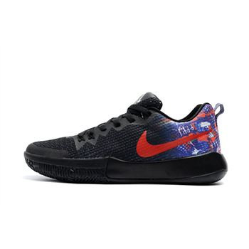 Nike Zoom Live II EP Black/Multi-Color Men's Basketball Shoes Free Shipping