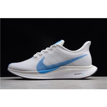 Nike Zoom Pegasus 35 Turbo White/Blue Hero-Vast Grey AJ4114-140
