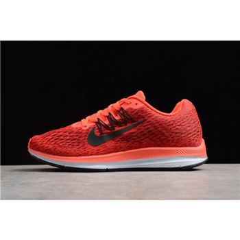 Nike Zoom Winflo 5 Bright Gym/Oil Grey Men's Running Shoes AA7406-600