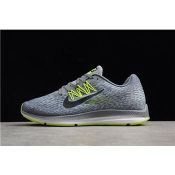 Nike Zoom Winflo 5 Cool Grey/Black/Wolf Grey/Vlot Men's Running Shoes AA7406-011