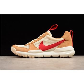Tom Sachs x NikeCraft Mars Yard 2.0 Natural/Sport Red-Maple AA2261-100