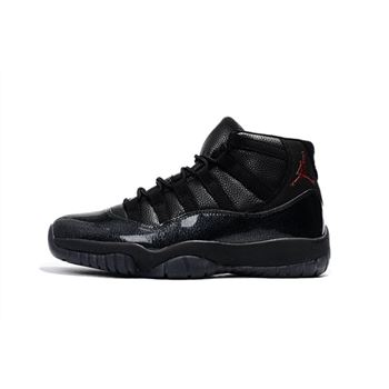 New Air Jordan 11 Black Devil Men's Basketball Shoes