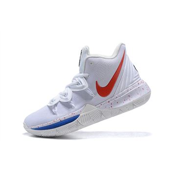 Nike Kyrie 5 Uconn PE White/Red-Blue