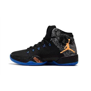 Russell Westbrook Air Jordan 30.5 MVP Black/Total Orange-Blue