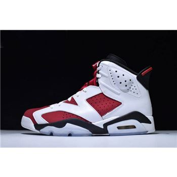 Air Jordan 6 Retro Carmine White/Carmine-Black 384664-160