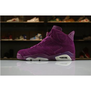 Custom Air Jordan 6 DIY Personal Tailor Bordeaux/Sail Men's Size For Sale