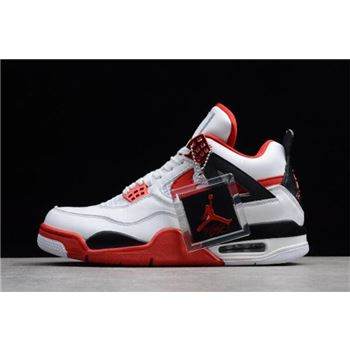 NIKEiD Air Jordan 4 Retro Fire Red 836011-107 For Sale