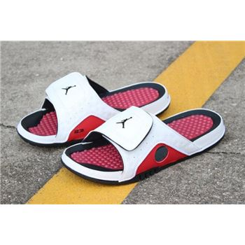 New Air Jordan Hydro 13 Retro Chicago White/Black-Gym Red Sandals